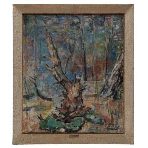 Siwecki Alojzy (1912-1988), Zamierające drzewo, przełom lat 60./70/ XX w.