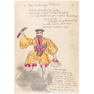 Frycz Karol (1877-1963), Feliks Manggha Jasieński, 1906