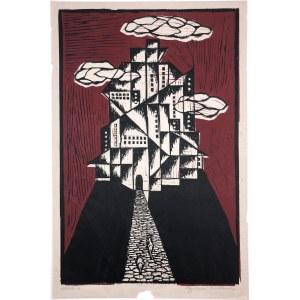 Wróblewska Krystyna (1904-1994), Miasto II, lata 50./60. XX w.