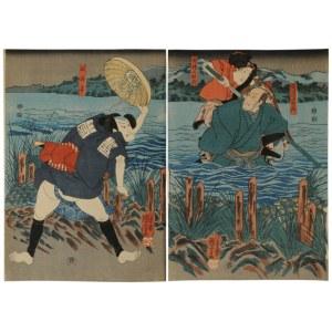 Utagawa Kuniyoshi (1798-1861), Bez tytułu, połowa XIX wieku