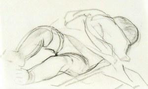 Leopold GOTTLIEB (1879-1934), Śpiące dziecko