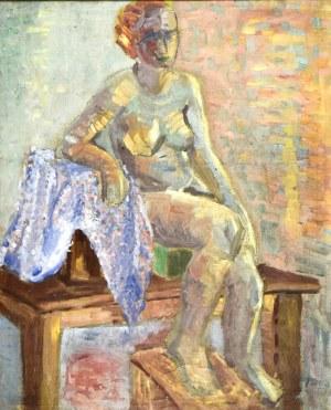 Helena ZAREMBA - CYBISOWA (1917 - 1986), Akt siedzący