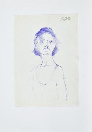 Roman BANASZEWSKI (1932-2021), Portret kobiety