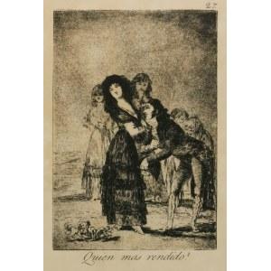 Francisco GOYA Y LUCIENTES (1746-1828), Quien mas rendido?