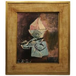 Rajmund KANELBA (1897-1960), Chłopiec grający na flecie