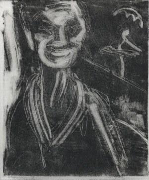 Stefania DRETLER-FLIN (1909-1994), Clown I, lata 50. XX w.
