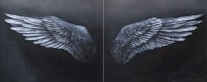 Klaudia Choma, Sen o lataniu (dyptyk), 2021