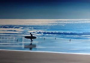Maciej Majewski, Blue at Heart and The Ocean, 2021
