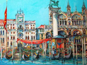 Piotr Rembieliński, Piazza San Marco, 2021