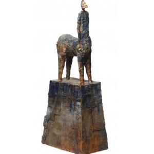 Arek Szwed, Niebieski centaur, 2021