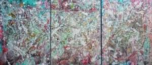 Olimpia Dobosz (ur. 1987), Abstract, tryptyk, 2020