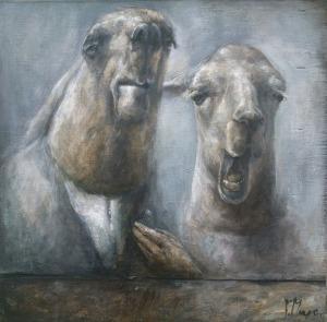 Paulina Mager, Milczący lama, 2016