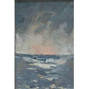 Stanisław Kukla(1919-1992),Morze,1962