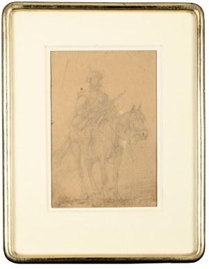 Józef Brandt (1841 Szczebrzeszyn – 1915 Radom), Jeździec