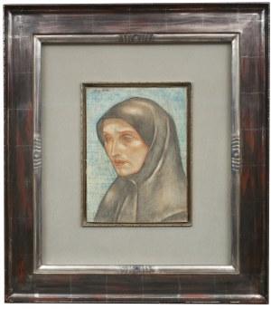 Eugeniusz Zak (1884 Mogilno – 1926 Paryż), Głowa mniszki, około 1912-13
