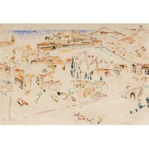 Mela Muter (1876 Warszawa - 1967 Paryż), Pejzaż z Collioure