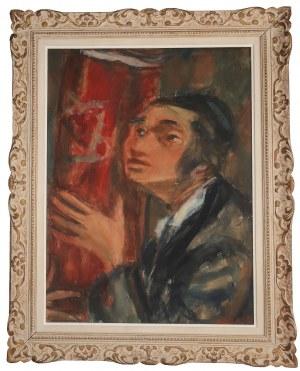 Zygmunt Menkes (1896 Lwów - 1986 Riverdale), Młodzieniec z Torą, przed 1939 r.