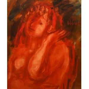 Zygmunt Menkes (1896 Lwów - 1986 Riverdale), Kobieta z muszlą, ok. 1930