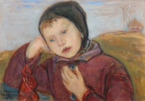 Wlastimil Hofman (1881 Praga - 1970 Szklarska Poręba), Krzyś, 1963 r.