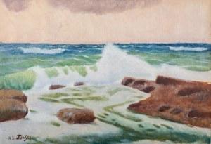 Roman Bratkowski (1869 Lwów - 1954 Wieliczka), Morze