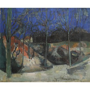 Joseph Pressmane (1904 Beresteczko- 1967 Paryż), Pejzaż
