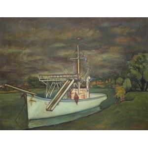 Michel Adlen (1898 Łuck – 1980 Paryż), Łódź