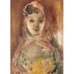 Rajmund Kanelba (1897 Warszawa - 1960 Londyn), Dziewczyna w chustce