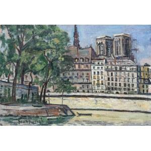 Nathan Grunsweigh (1883 Kraków - 1956 Paryż), Île de la Cité w Paryżu
