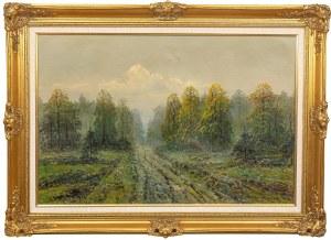 Wiktor Korecki (1890 Kamieniec Podolski - 1980 Milanówek k. Warszawy), Droga w lesie