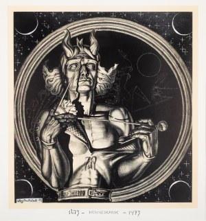 Stanisław Szukalski (1893 Warta – 1987 Burbank), Kopernik, 1973