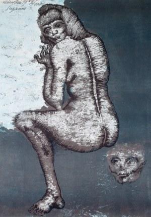 Jan Lebenstein (1930 Brześć Litewski - 1999 Kraków), Susanne, 1973 r.