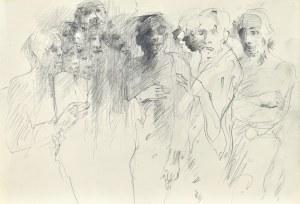 Roman BANASZEWSKI (1932-2021), Szkice mężczyzn