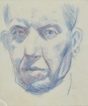 Stanisław KAMOCKI (1875-1944), Autoportret – głowa artysty