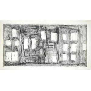 Janina MUSZANKA - ŁAKOMSKA (1920-1982), Kompozycja abstrakcyjna