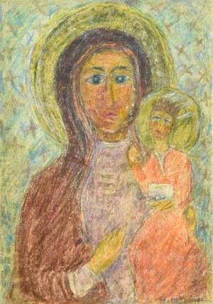 Krystyna PELLETIER (1914-2007), Madonna z Dzieciątkiem