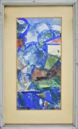 Kazimierz PODSADECKI (1904-1970), Pejzaż, 1960