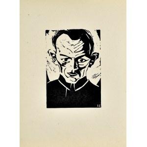 Stefan SZMAJ (1893-1970), Autoportret III, 1921