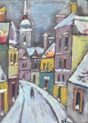 Eugeniusz TUKAN - WOLSKI (1928-2014), Ulica w mieście