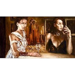 Katarzyna Szydłowska, ALTER EGO 72 x 122 cm.