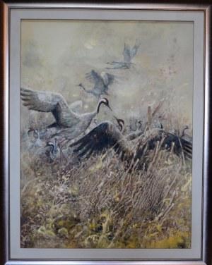 Daniel Pielucha, ODLOTY 90 x 120 cm.