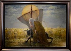 Daniel Pielucha, PASTUCH 90 x 130 cm.