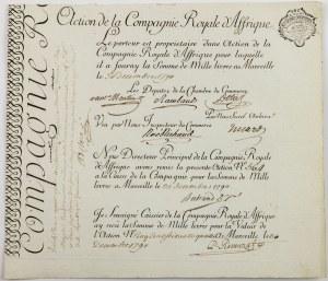 AKCJA KRÓLEWSKIEJ KOMPANII AFRYKAŃSKIEJ, Marsylia, 30.12.1790