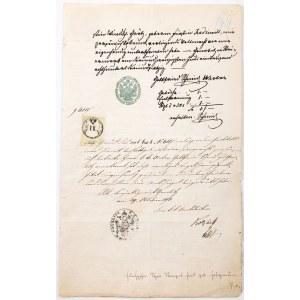 PEŁNOMOCNICTWO MATYLDY RADZIWIŁŁ, Ostrów Wielkopolski, 20.06.1873