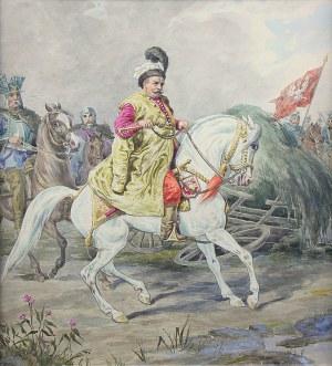 Józef Brodowski (1828 Warszawa-1900 tamże), Jan III Sobieski, ok. 1860–1880