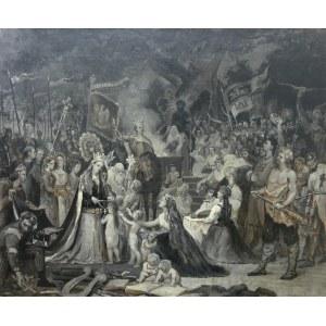 Władysław Ciesielski (1845 Mogilno - 1901 Paryż), Chrzest Litwy, 1900 r.