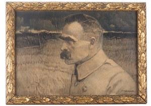Apoloniusz Kędzierski (1861 Suchedniów – 1939 Warszawa), Portret Naczelnego Wodza, Józefa Piłsudskiego, 1922 r.