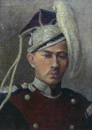 Artysta nieokreślony (1 poł. XX w.), Portret niemieckiego Oficera Kawalerii