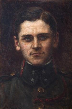 Józef Krzesz-Męcina (1816 Kraków-1934 Poznań), Portret sekcyjnego piechoty Legionów Polskich w 1914 r.