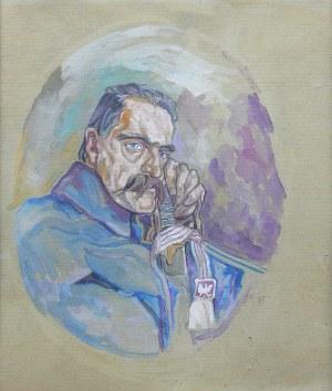 Portret Józefa Piłsudskiego, 1935 r.