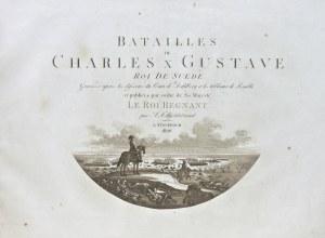 Erik J. Dahlberg (1625-1703), Batailles de Charles X Gustave roi de Suede